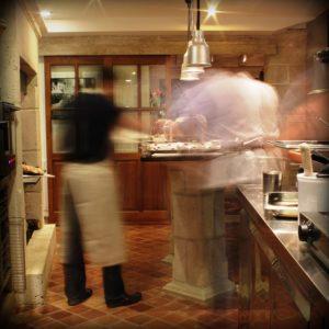 flou en cuisine