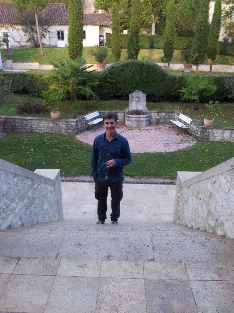 La montée des marches pour Christophe Dufau