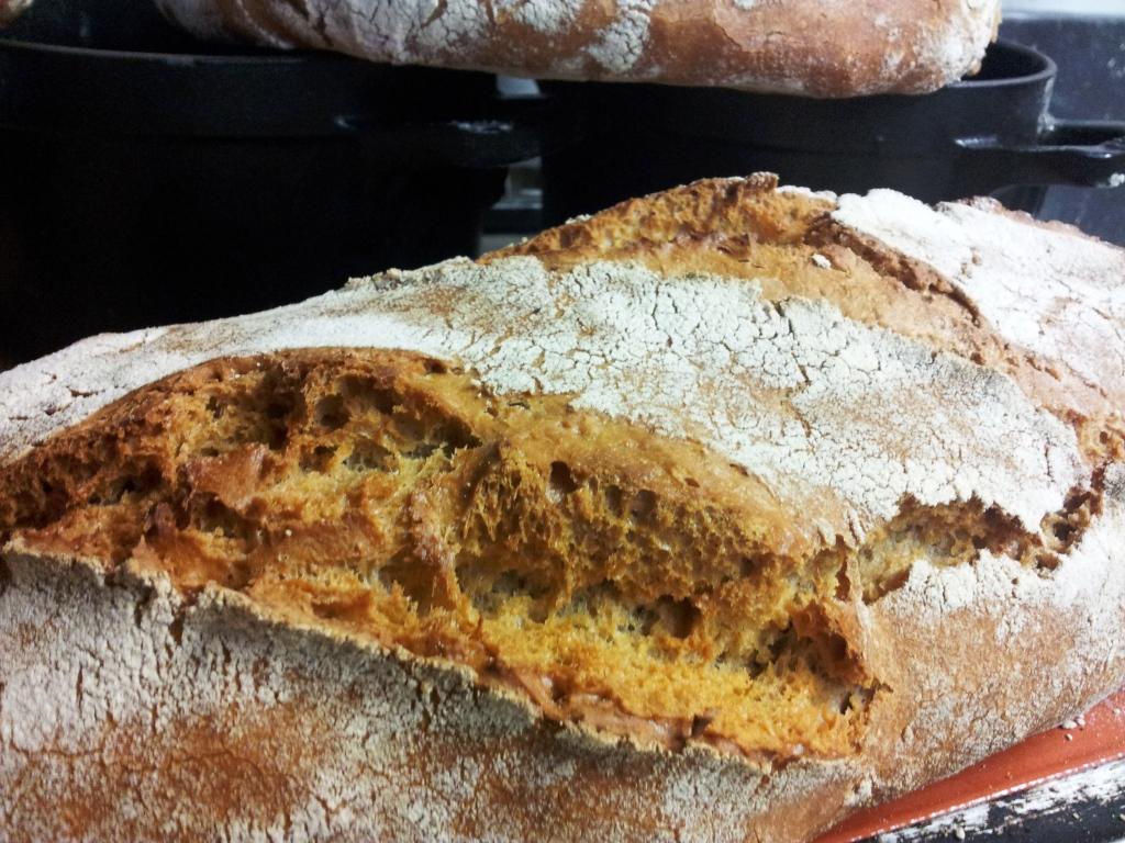 Le pain de blé truffier au levain indigène