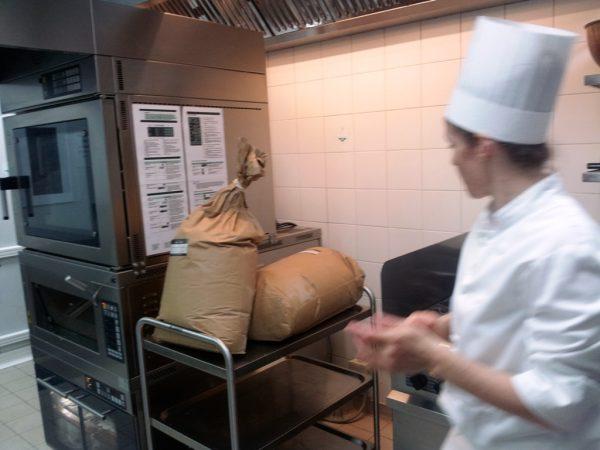 La farine de blé truffier